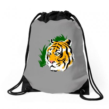 Tiger Drawstring Bags Designed By Tapan