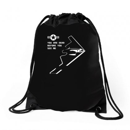 Design Northrop Grumman B 2 Spirit Stealth Bomber Us Air Force Drawstring Bags Designed By H4syim