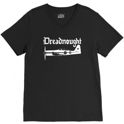Dreadnought Race 8 Reno Air Racer Decal Sea Fury Air Racing V-neck Tee Designed By H4syim