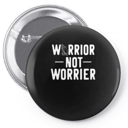 Prayer Warrior Gift Pin-back Button Designed By Cogentprint