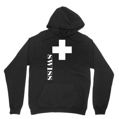 Fan , Switzerland Cross, Swiss Cross Unisex Hoodie Designed By H4syim