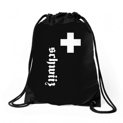 Fan, Swiss Cross, Switzerland, New Drawstring Bags Designed By H4syim