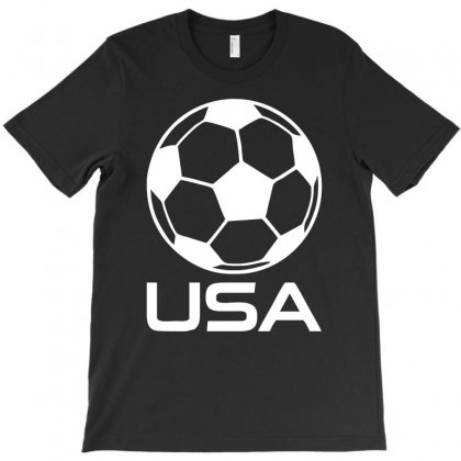 Usa Soccer Football Olympic T-shirt Designed By H4syim