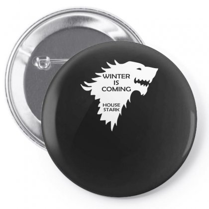 Winter Is Coming   House Stark Pin-back Button Designed By H4syim