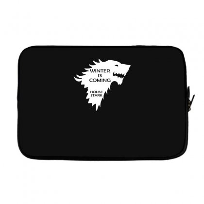 Winter Is Coming   House Stark Laptop Sleeve Designed By H4syim