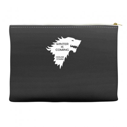 Winter Is Coming   House Stark Accessory Pouches Designed By H4syim
