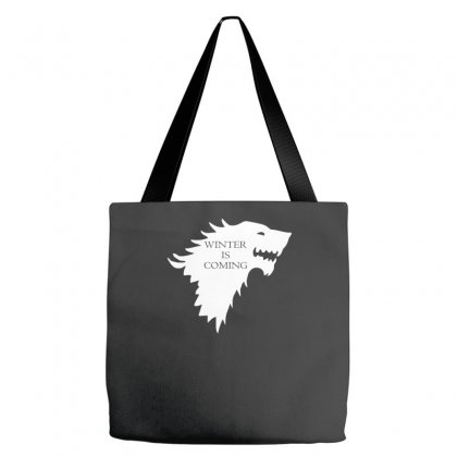 Winter Is Coming Tote Bags Designed By H4syim