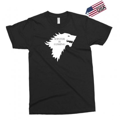 Winter Is Coming Exclusive T-shirt Designed By H4syim