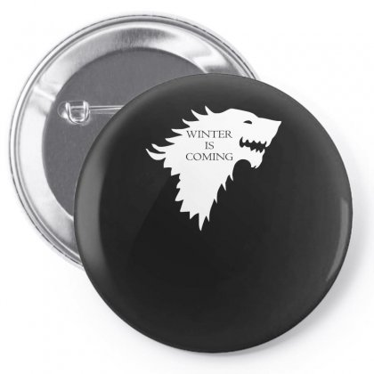 Winter Is Coming Pin-back Button Designed By H4syim