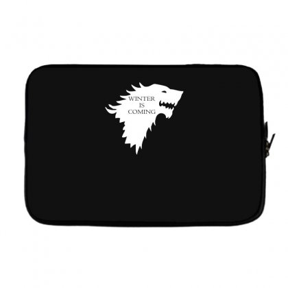 Winter Is Coming Laptop Sleeve Designed By H4syim