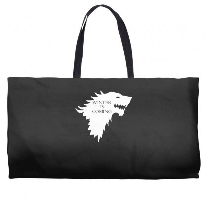 Winter Is Coming Weekender Totes Designed By H4syim