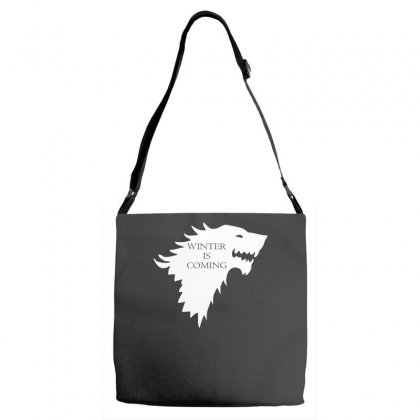 Winter Is Coming Adjustable Strap Totes Designed By H4syim