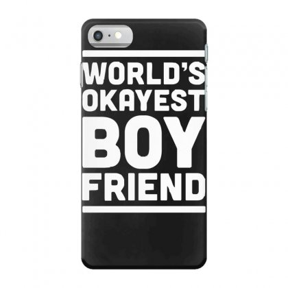 World's Okayest Boyfriend Couple Love Funny Iphone 7 Case Designed By H4syim
