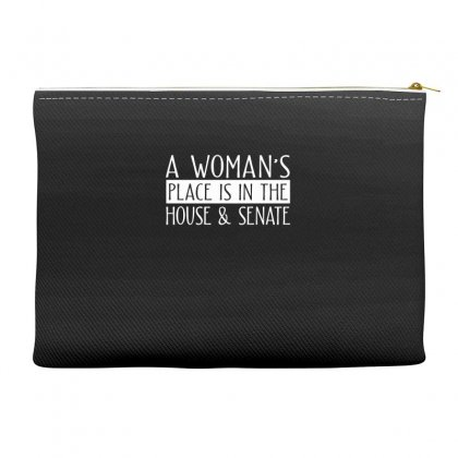 Womens Right Merch Accessory Pouches Designed By Cogentprint