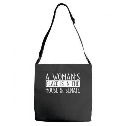 Womens Right Merch Adjustable Strap Totes Designed By Cogentprint