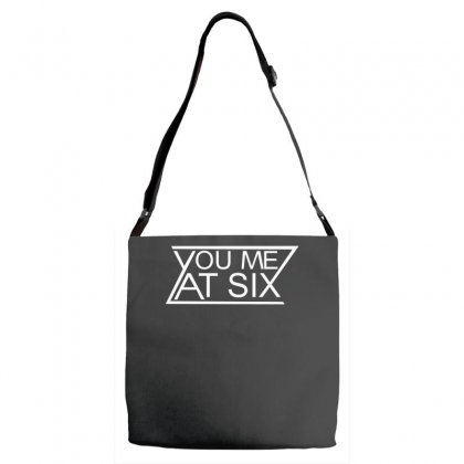 You Me At Six Adjustable Strap Totes Designed By H4syim