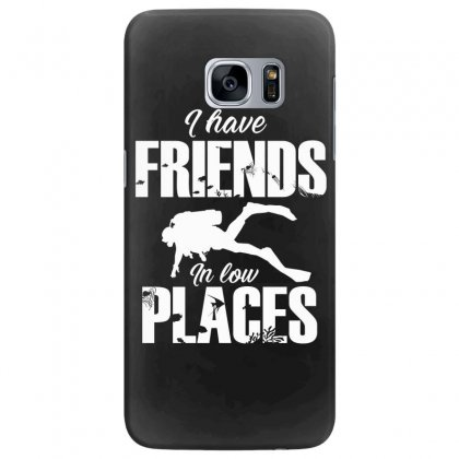 Friends In Low Places Diver Design Samsung Galaxy S7 Edge Case Designed By Cogentprint