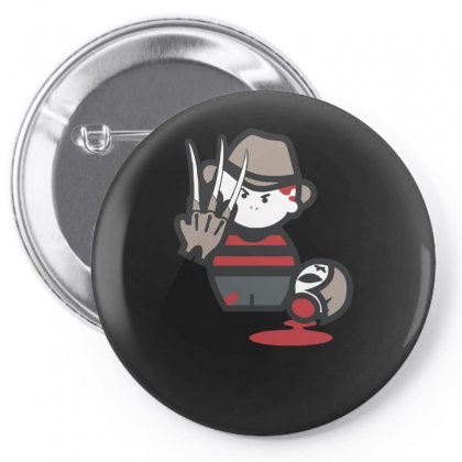 Freddy Krueger Cartoon Ideal Birthday Present Or Gift Pin-back Button Designed By H4syim