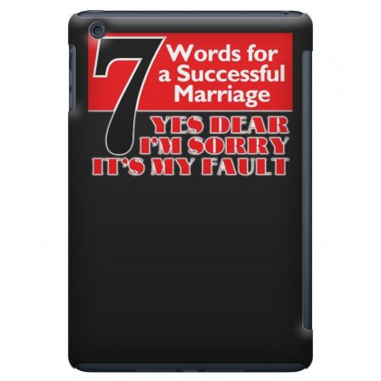 Funny  7 Words For Marriage, Ideal Gift, Birthday Present Ipad Mini Case Designed By H4syim
