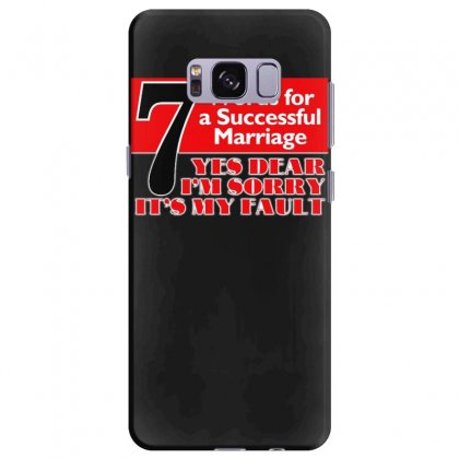 Funny  7 Words For Marriage, Ideal Gift, Birthday Present Samsung Galaxy S8 Plus Case Designed By H4syim
