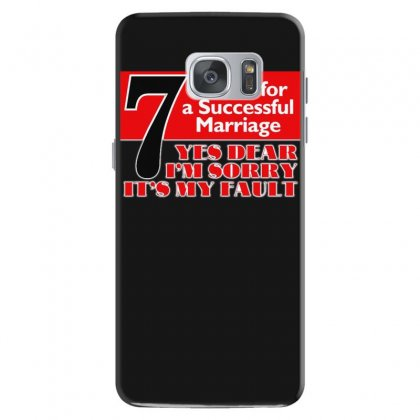 Funny  7 Words For Marriage, Ideal Gift, Birthday Present Samsung Galaxy S7 Case Designed By H4syim