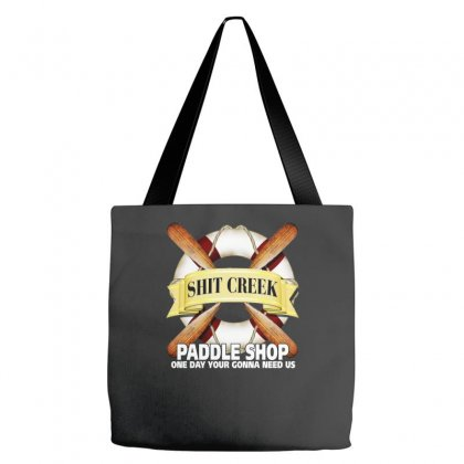 Funny  Creek Paddle Shop, Ideal Gift, Birthday Present Tote Bags Designed By H4syim