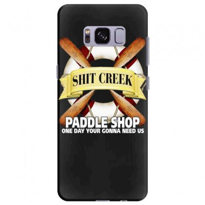 Funny  Creek Paddle Shop, Ideal Gift, Birthday Present Samsung Galaxy S8 Plus Case Designed By H4syim