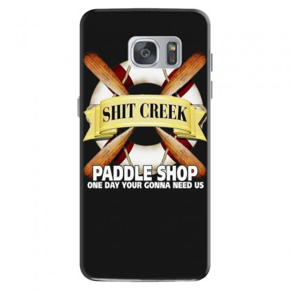 Funny  Creek Paddle Shop, Ideal Gift, Birthday Present Samsung Galaxy S7 Case Designed By H4syim