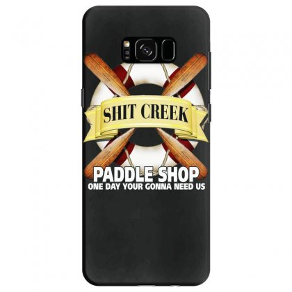 Funny  Creek Paddle Shop, Ideal Gift, Birthday Present Samsung Galaxy S8 Case Designed By H4syim