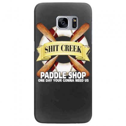 Funny  Creek Paddle Shop, Ideal Gift, Birthday Present Samsung Galaxy S7 Edge Case Designed By H4syim