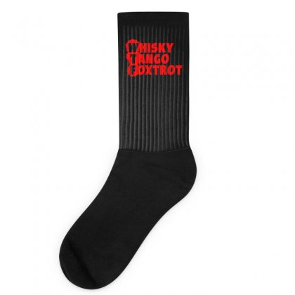 Funny  Wtf, Ideal Birthday Present Or Gift Socks Designed By H4syim