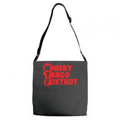 Funny  Wtf, Ideal Birthday Present Or Gift Adjustable Strap Totes Designed By H4syim