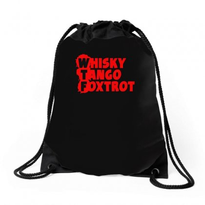 Funny  Wtf, Ideal Birthday Present Or Gift Drawstring Bags Designed By H4syim