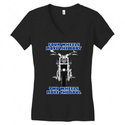 Funny , Fourtwo Wheels, Ideal Gift, Birthday Present Women's V-neck T-shirt Designed By H4syim