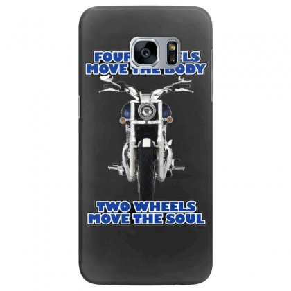 Funny , Fourtwo Wheels, Ideal Gift, Birthday Present Samsung Galaxy S7 Edge Case Designed By H4syim