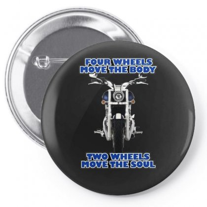 Funny , Fourtwo Wheels, Ideal Gift, Birthday Present Pin-back Button Designed By H4syim