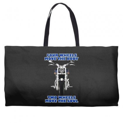 Funny , Fourtwo Wheels, Ideal Gift, Birthday Present Weekender Totes Designed By H4syim