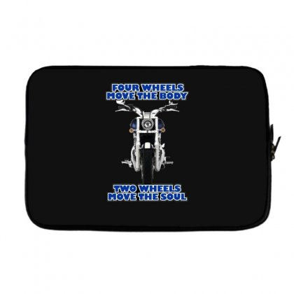 Funny , Fourtwo Wheels, Ideal Gift, Birthday Present Laptop Sleeve Designed By H4syim