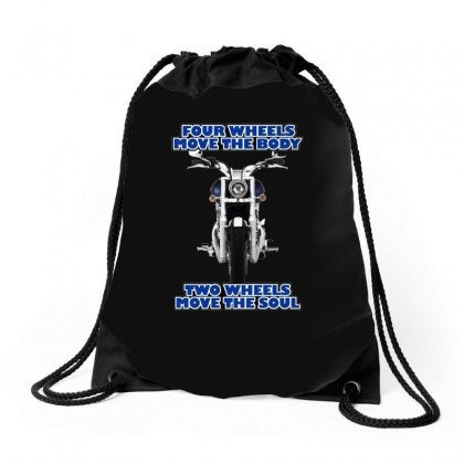 Funny , Fourtwo Wheels, Ideal Gift, Birthday Present Drawstring Bags Designed By H4syim