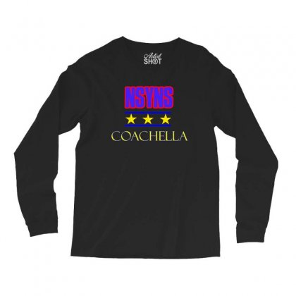 Nsyns Coachella Long Sleeve Shirts Designed By Vanitty