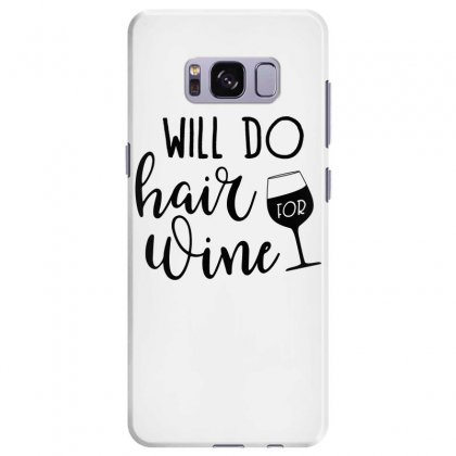 Funny Wine Drinking Design Samsung Galaxy S8 Plus Case Designed By Cogentprint