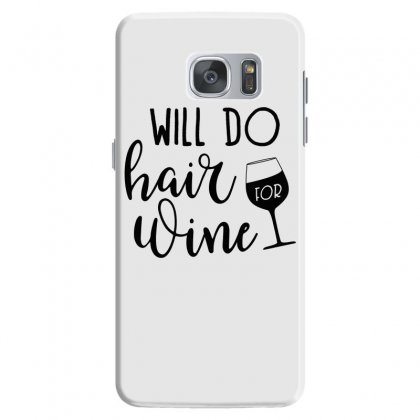 Funny Wine Drinking Design Samsung Galaxy S7 Case Designed By Cogentprint
