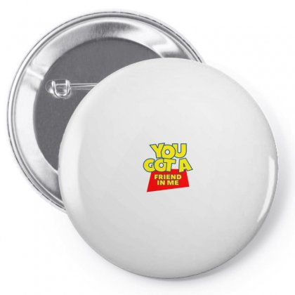 You Got A Friend In Me Pin-back Button Designed By Nurbetulk