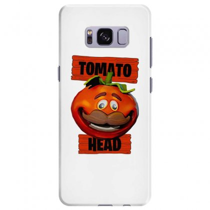 Tomato Head Samsung Galaxy S8 Plus Case Designed By Nurbetulk