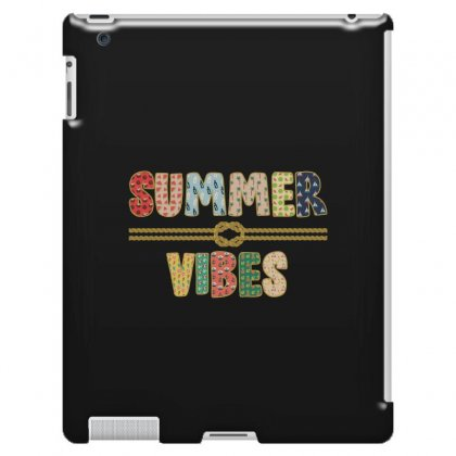Summer Vibes Ipad 3 And 4 Case Designed By Nurbetulk