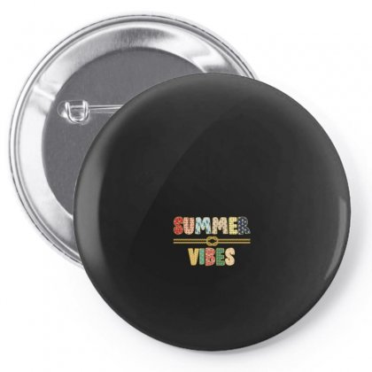 Summer Vibes Pin-back Button Designed By Nurbetulk