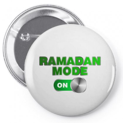 Ramadan Mode On Pin-back Button Designed By Nurbetulk