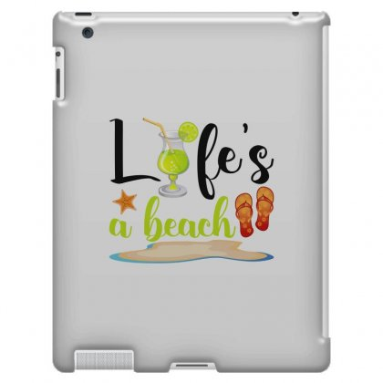 Life's A Beach For Light Ipad 3 And 4 Case Designed By Nurbetulk