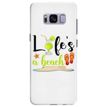 Life's A Beach For Light Samsung Galaxy S8 Plus Case Designed By Nurbetulk