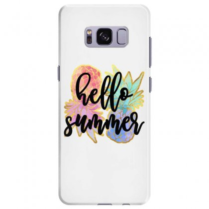 Hello Summer Samsung Galaxy S8 Plus Case Designed By Nurbetulk